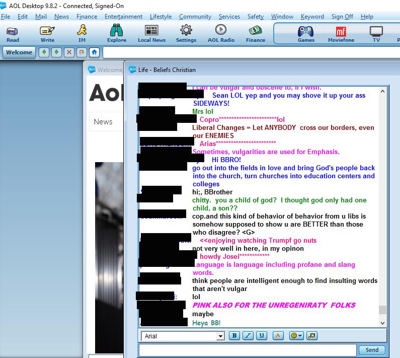 Aim im chat rooms sex