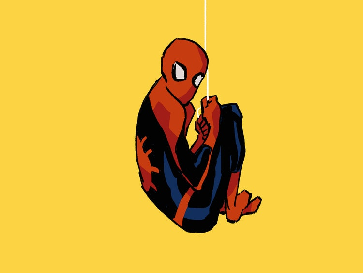Playful Spider-Man FanZine Perfectly Illustrates Young Peter Parker