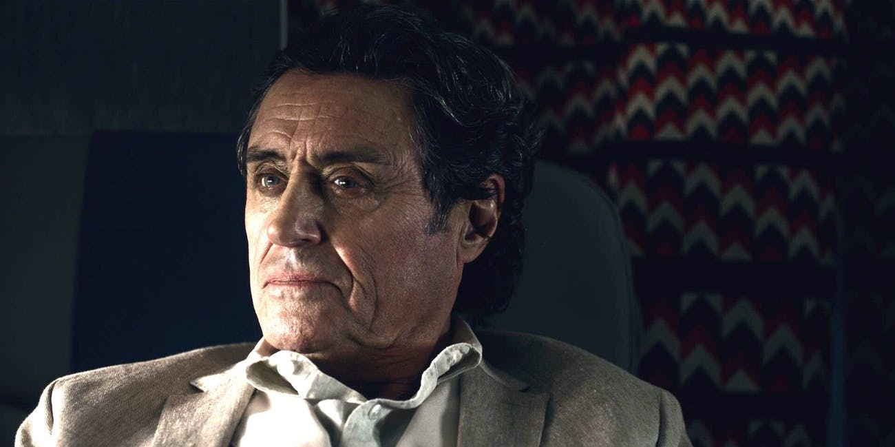 Ian McShane as Wednesday in Bryan Fuller's version of Neil Gaiman's 'American Gods'