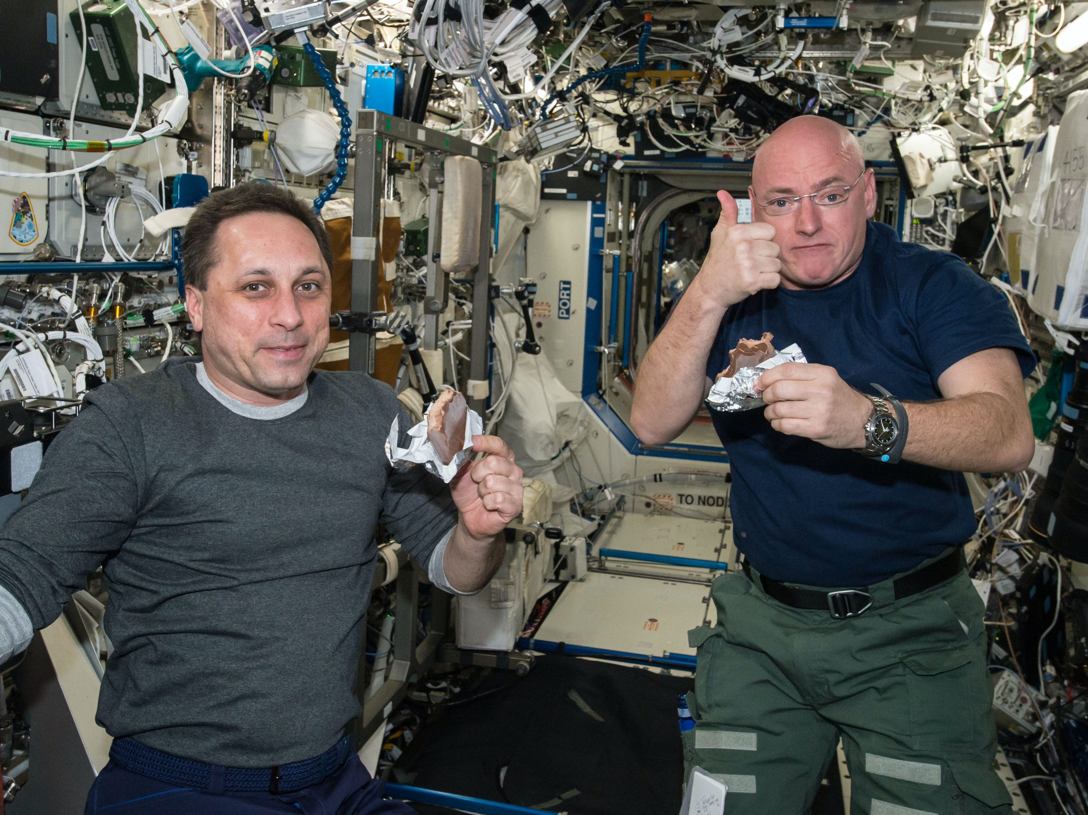 Here's Why Scott Kelly Got Two Inches Taller in Space
