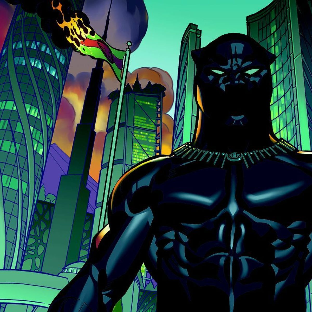 Black Panther: What's the Closest Real-World Material to