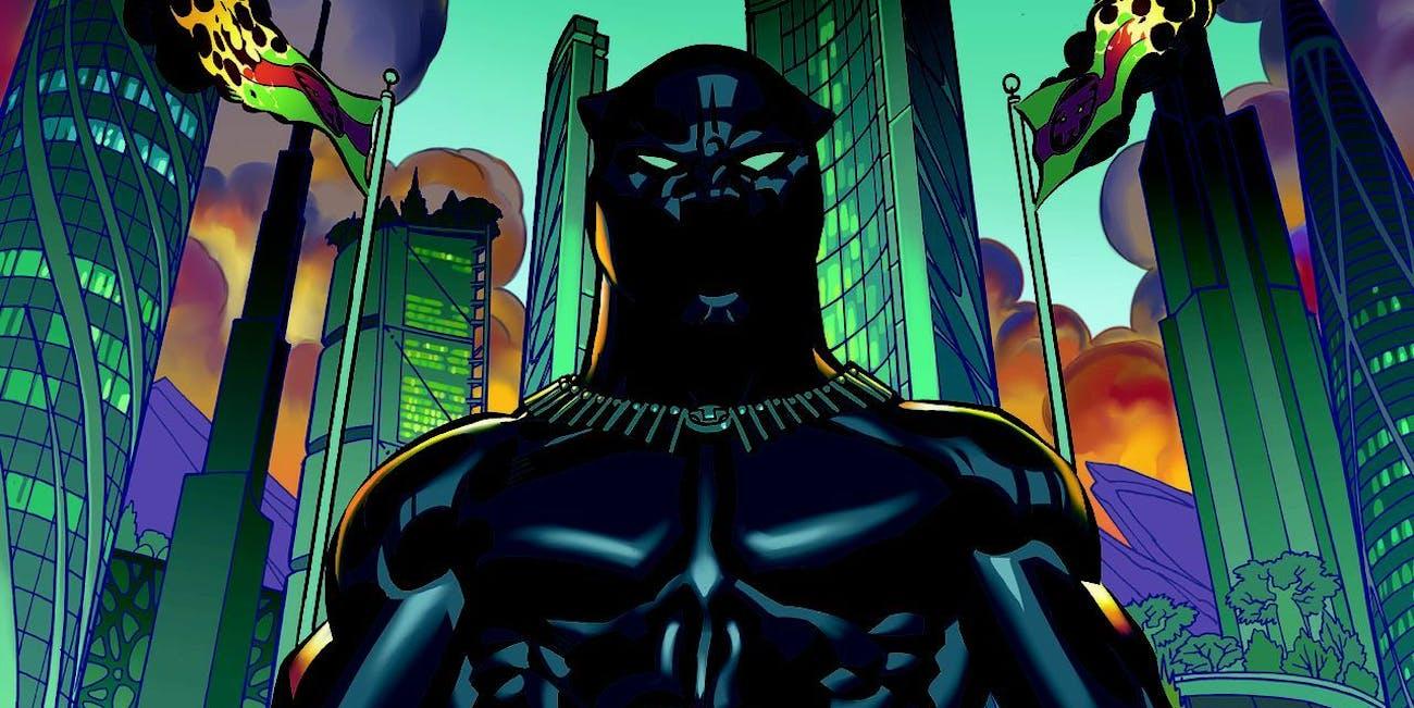 vibranium suit black panther