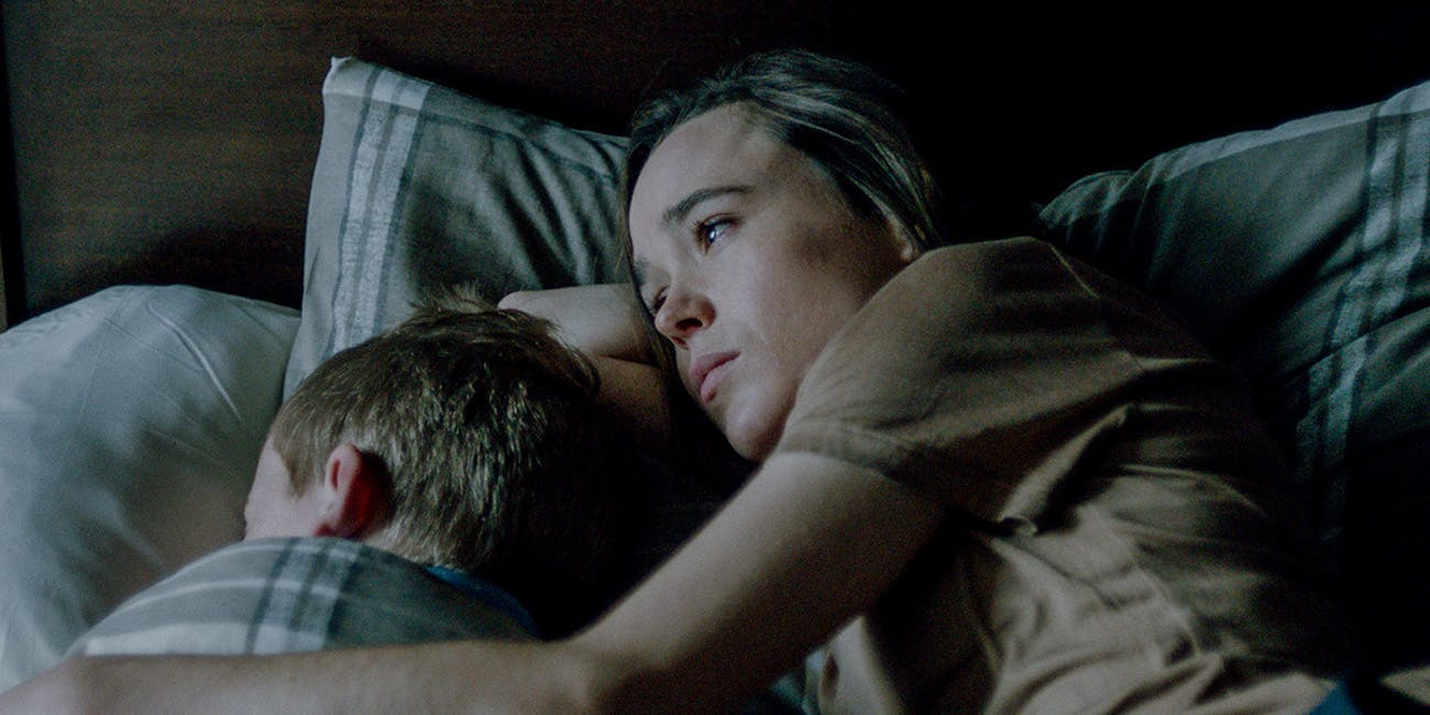 Ellen Page plays Abbie, a young mother that lost her husband in the outbreak and accepts his cured brother into her home.