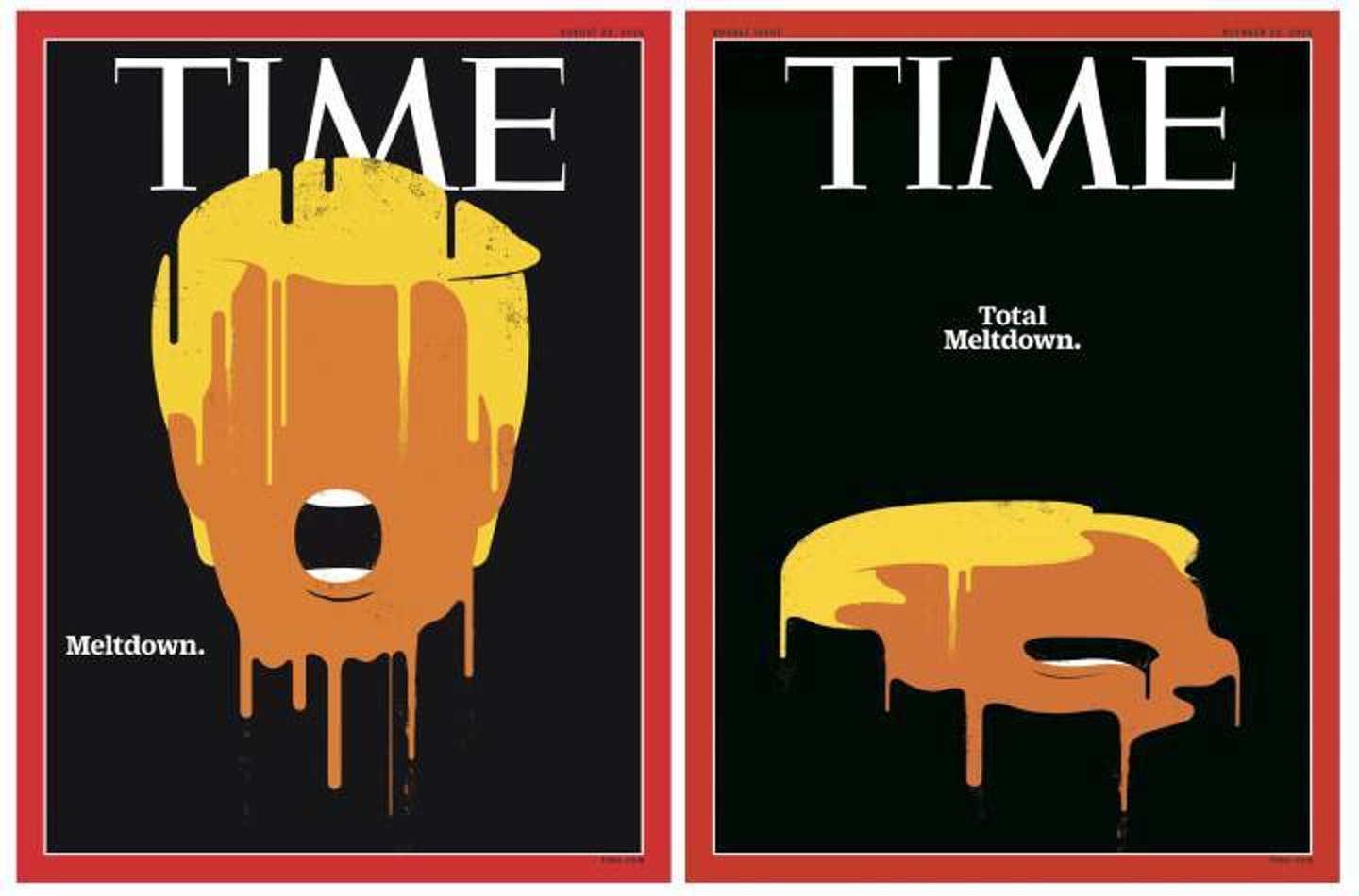 'Time' thought Trump was a droopy mess, not a meteor.