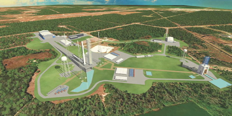 Jeff Bezos' Blue Origin is planning on building two large rocket launch sites in Florida.