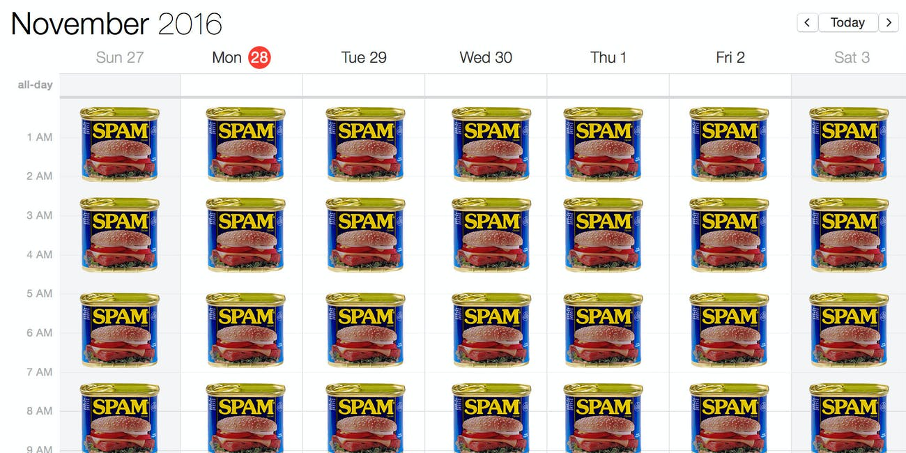 Icloud Calendar.How To Get Rid Of Those Spam Icloud Calendar Event Invites Inverse