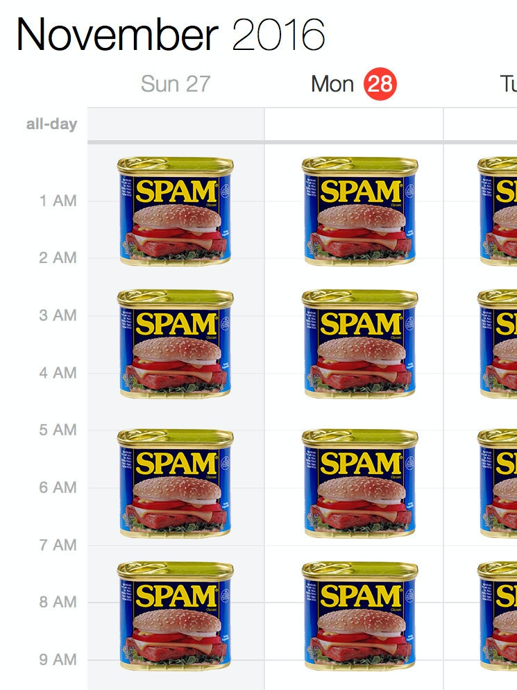 iCloud Calendar spam is an annoying new trend -- here's how to stop it.