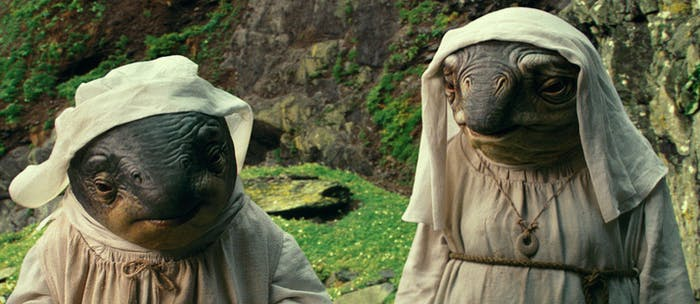 Rey has a complicated relationship with the Caretakers on Ahch-To.