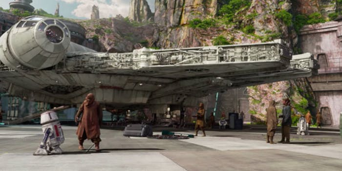 The final resting place of the Millennium Falcon was seemingly just revealed in a book series announcement.