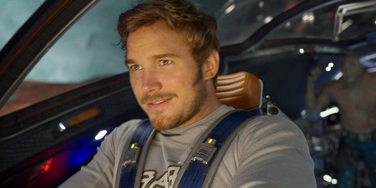 Chris Pratt as Star-Lord in 'Guardians of the Galaxy Vol. 2'