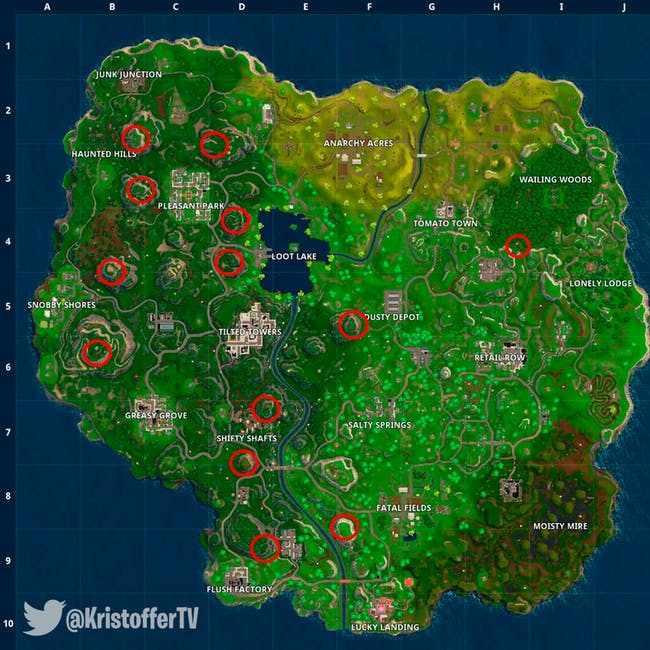 Fortnite Rocket Launch 4 Best Locations To Watch This