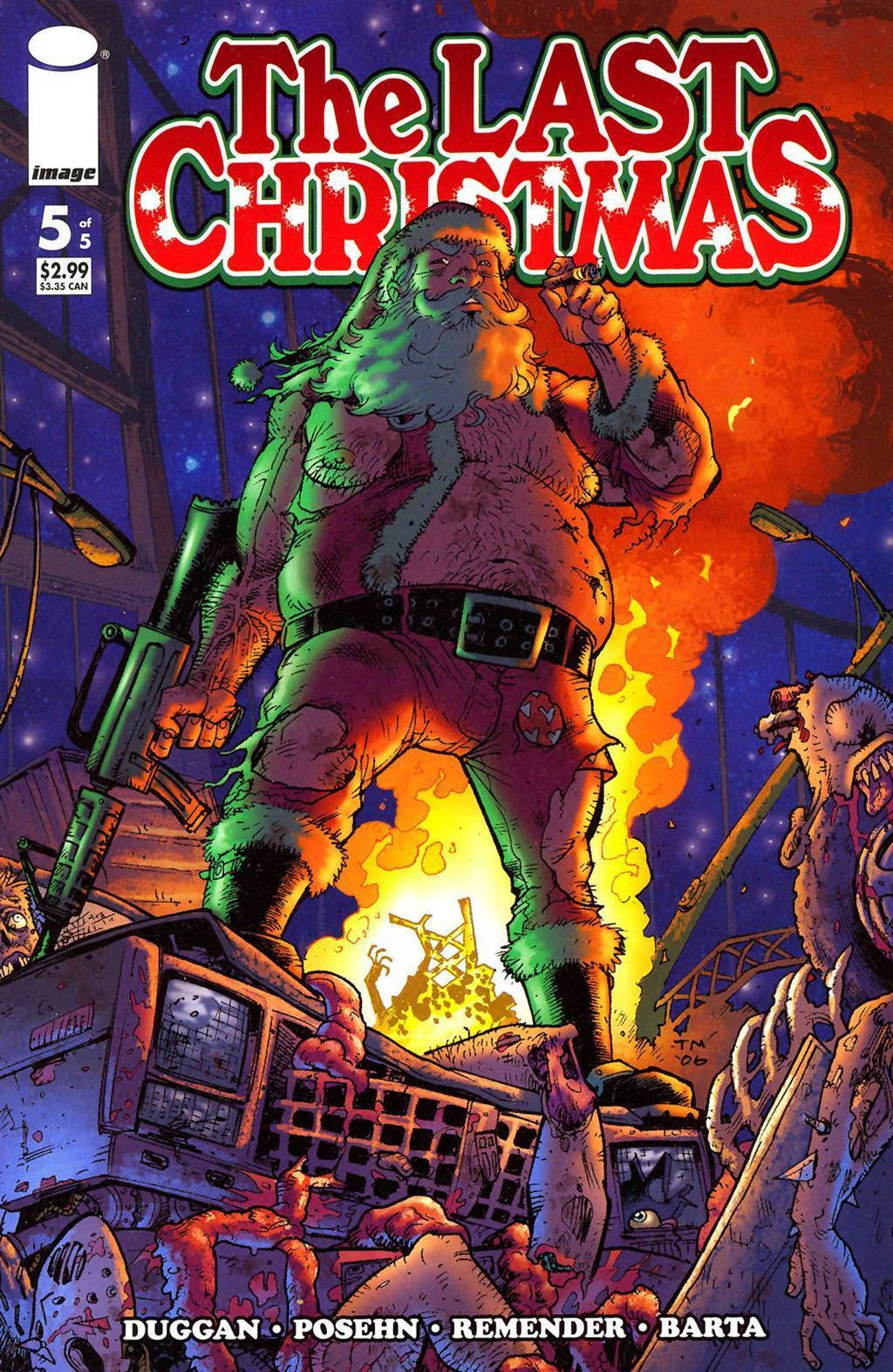 the last christmas by gerry duggan and brian posehn - The Last Christmas