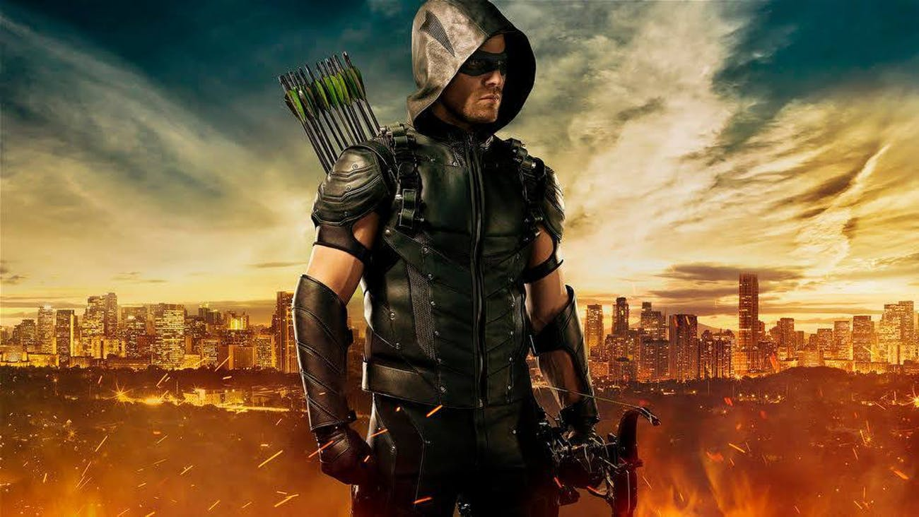 Stephen Amell as Oliver Queen in 'Arrow'