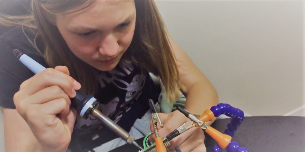 Teen Inventor Allie Weber Knows Problems Can Be Solved While Having Fun