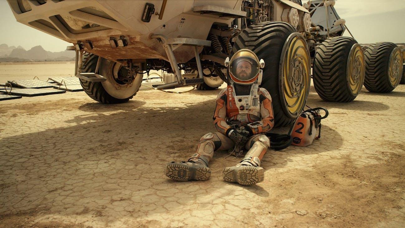 Matt Damon in 'The Martian' (2015).