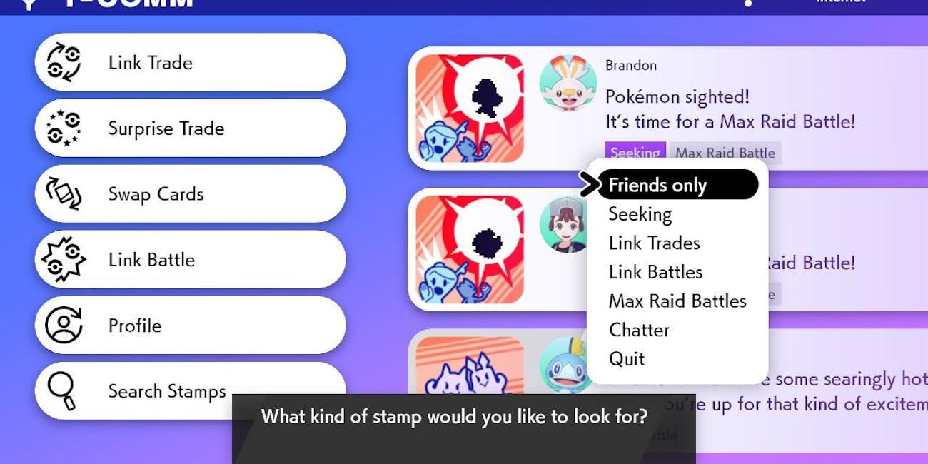 Pokemon Sword and Shield Y-comm