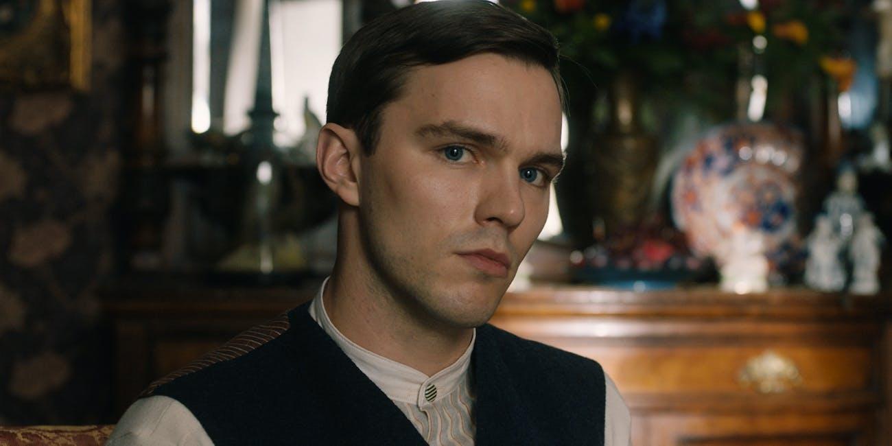 Nicholas Hoult in the film 'Tolkien.'