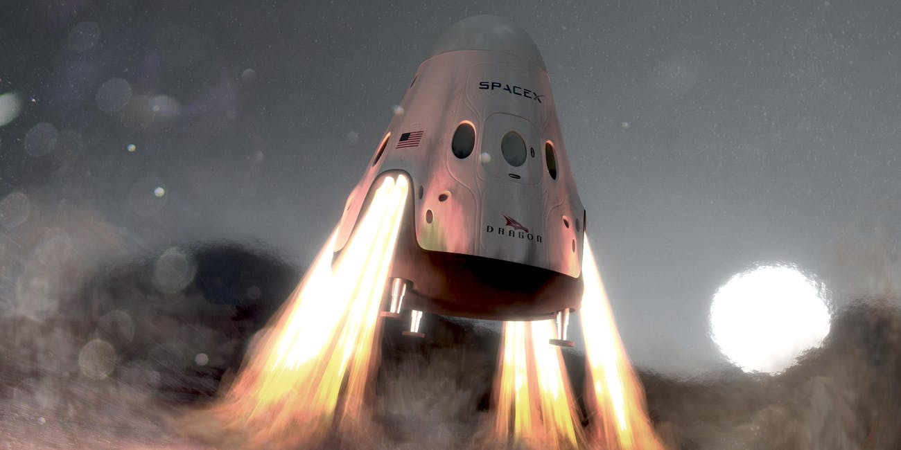 spacex red dragon