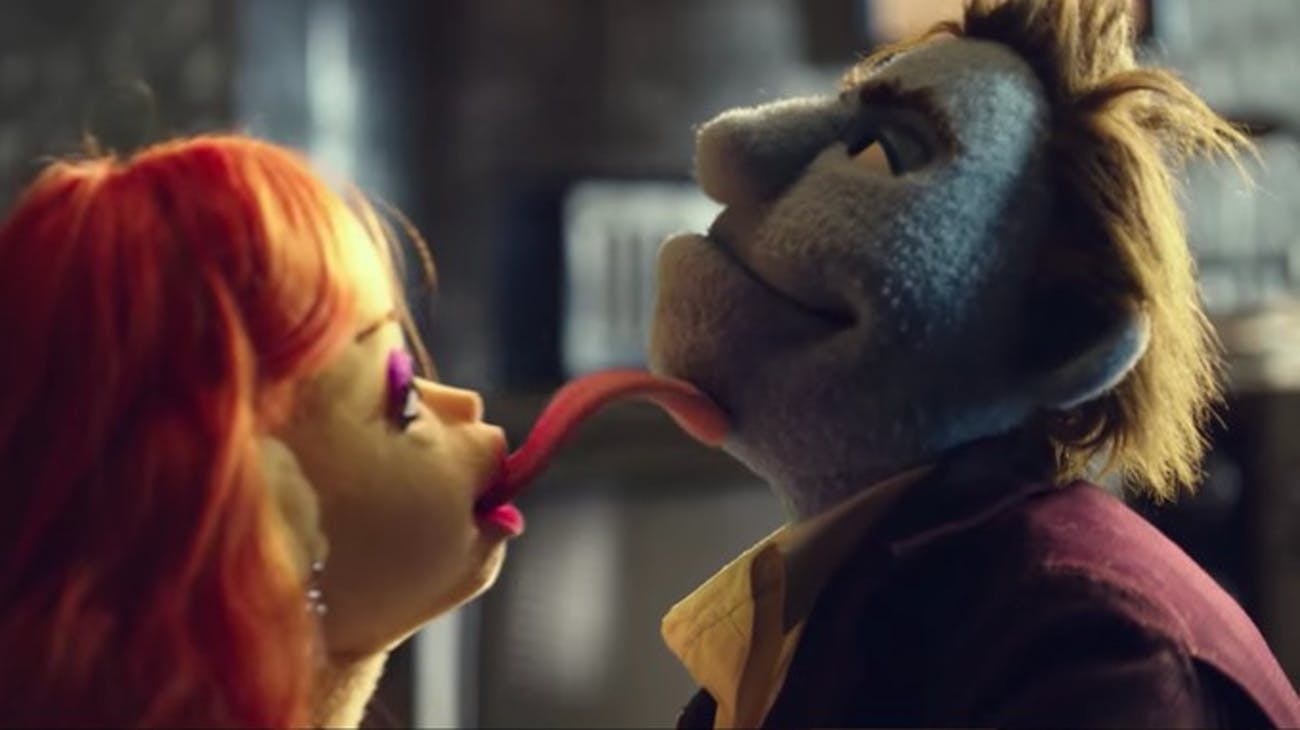 The big sex scene in 'The Happytime Murders' will haunt viewers.