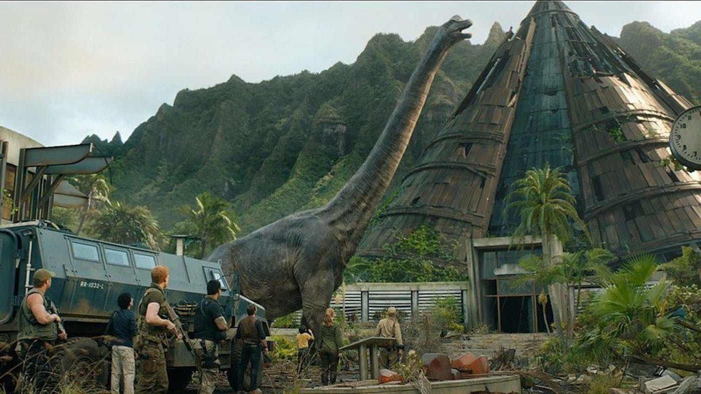Jurassic World: Fallen Kingdom' Tries to Save the Series From