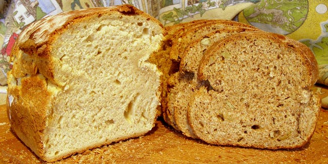 White and wholemeal