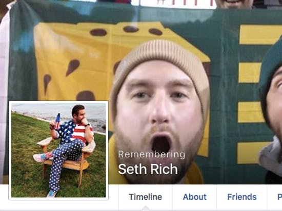 "Seth Rich's Family: ""Special Place in Hell"" for Conspiracy Theorists"