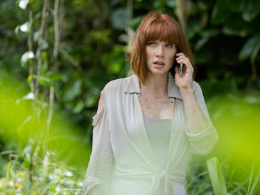 Bryce Dallas Howard Is Totally Wearing Boots in 'Jurassic World 2'