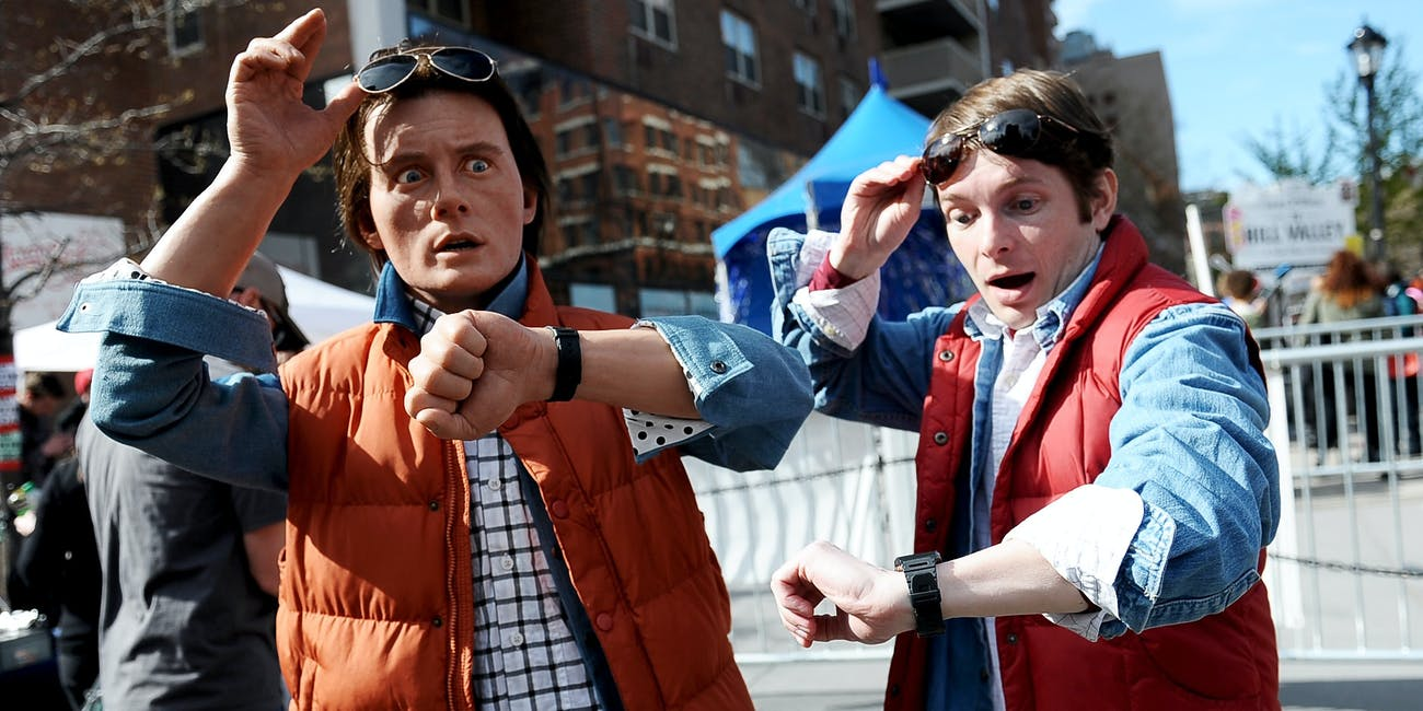 How To Throw Together A Marty Mcfly Costume For Halloween Inverse