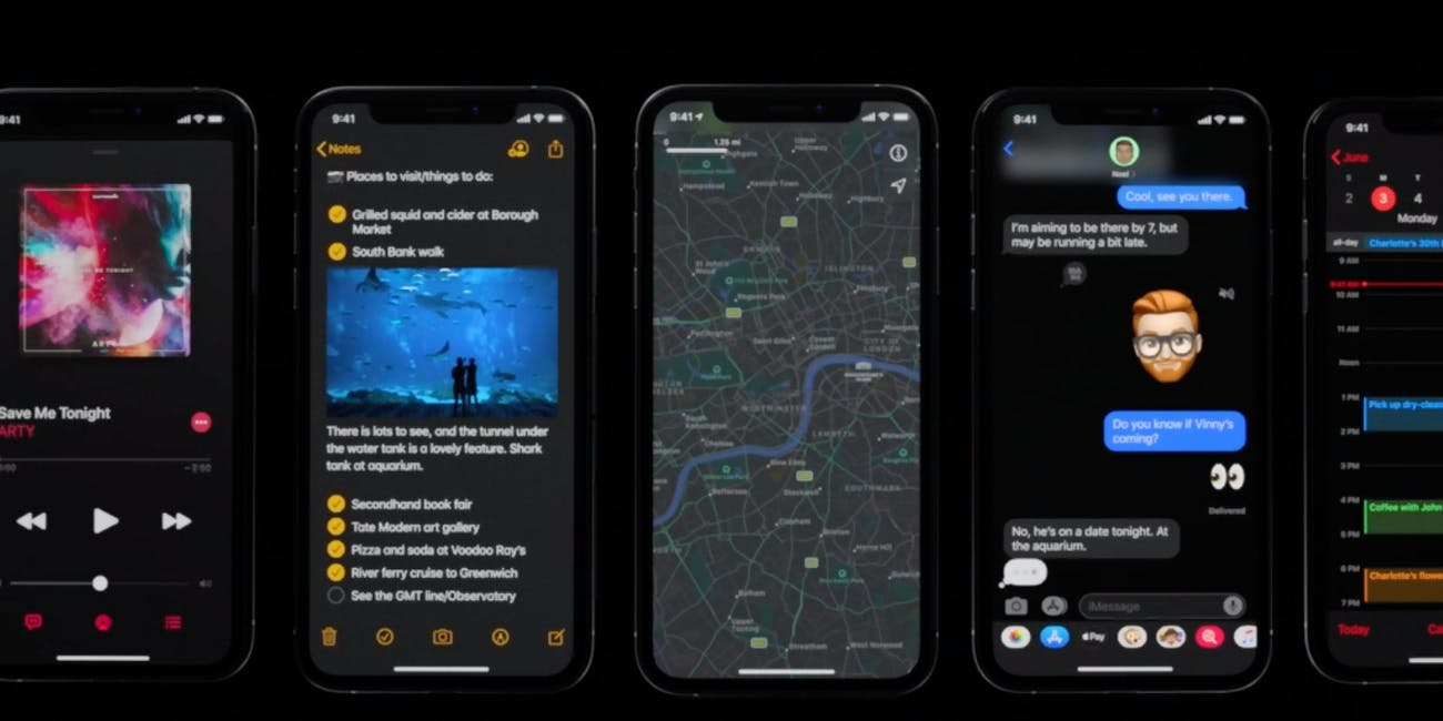Iphone Dark Mode Release Date Download Guide What Iphones