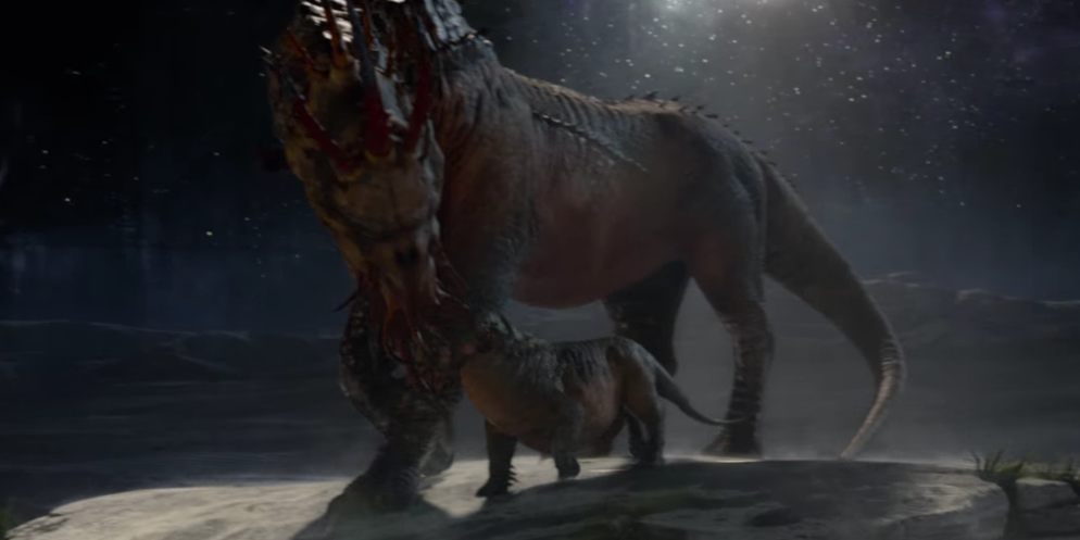 A Graphorn in 'Fantastic Beasts and Where to Find Them'
