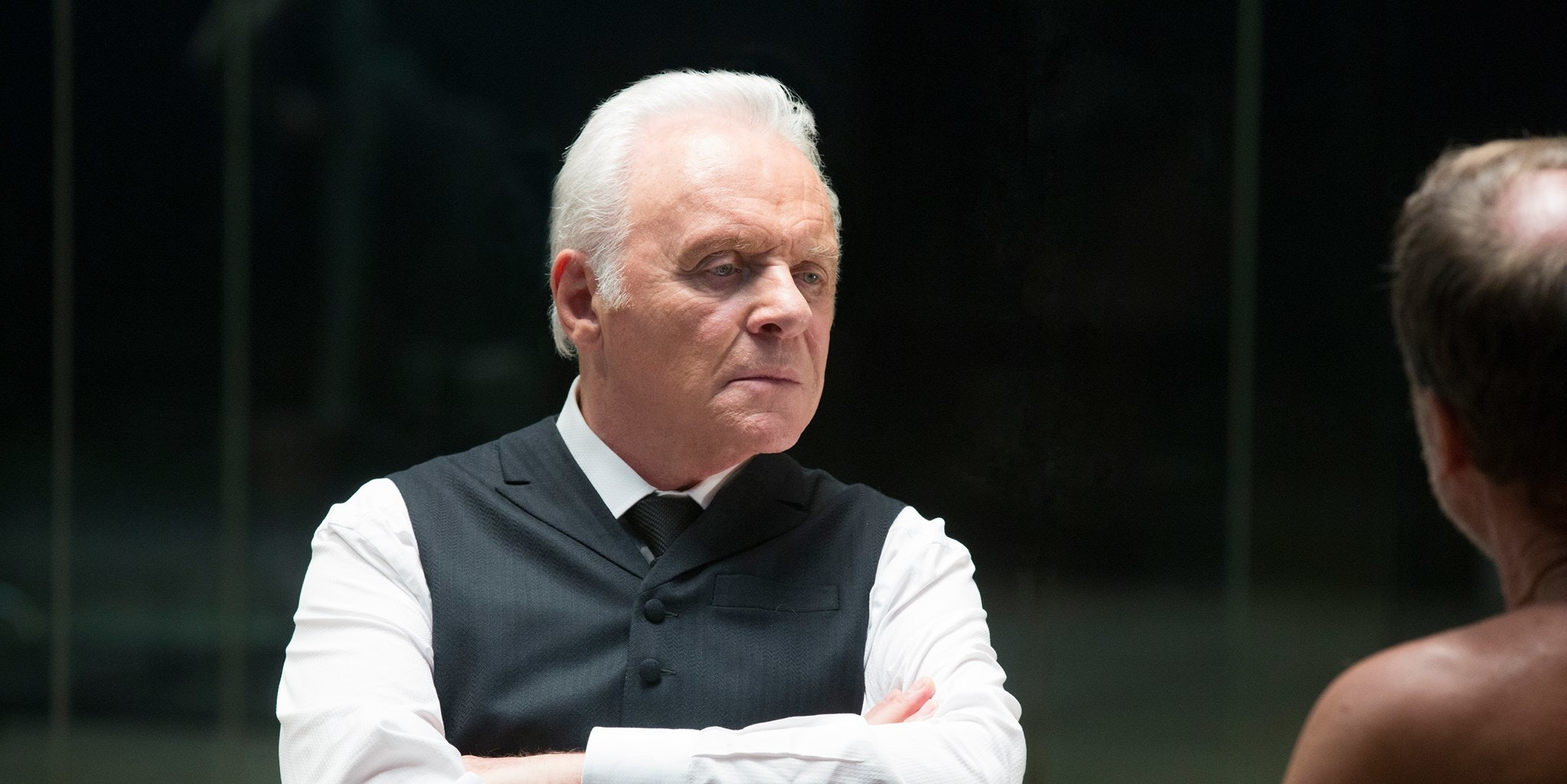 "Anthony Hopkins in HBO's ""Westworld"""