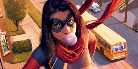 Kamala Khan as Ms. Marvel