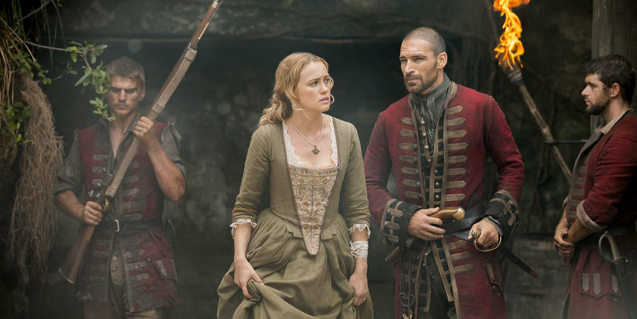 Eleanor Guthrie in 'Black Sails' Season 4