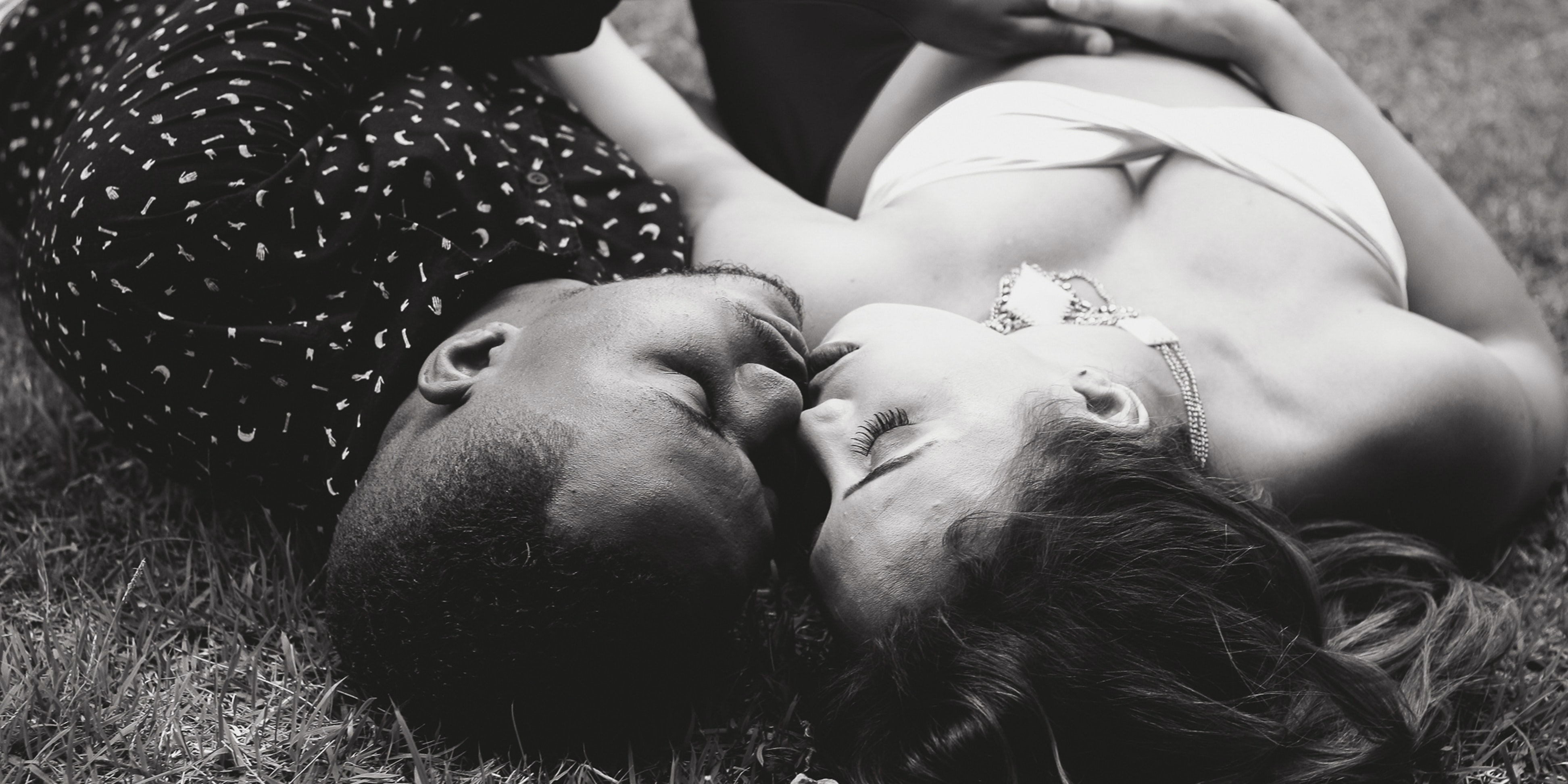 making out in a field