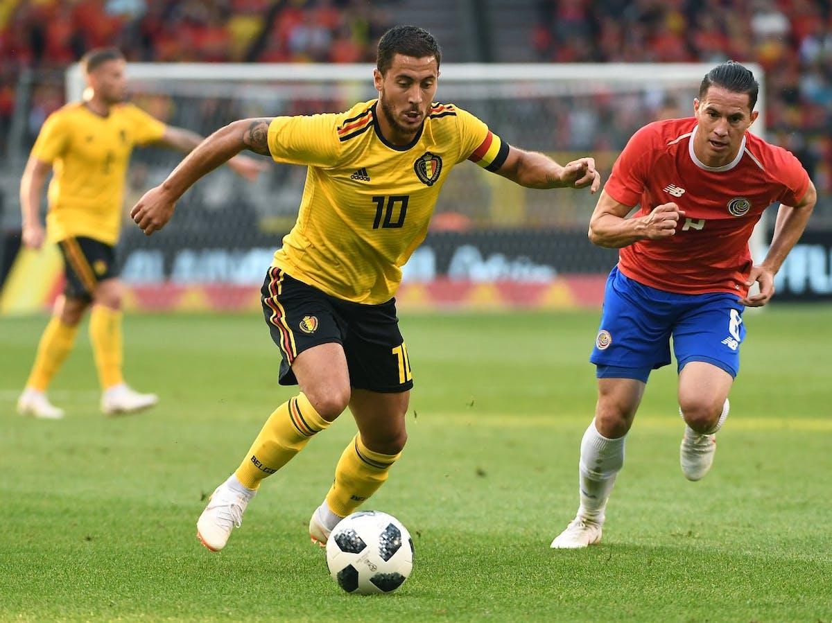 Belgium midfielder Eden Hazard.