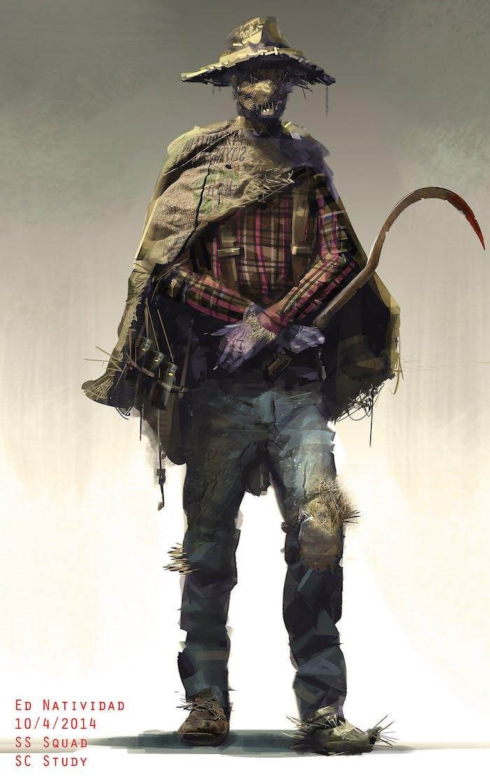 Scarecrow 'Suicide Squad' concept art for DC's 'Suicide Squad'