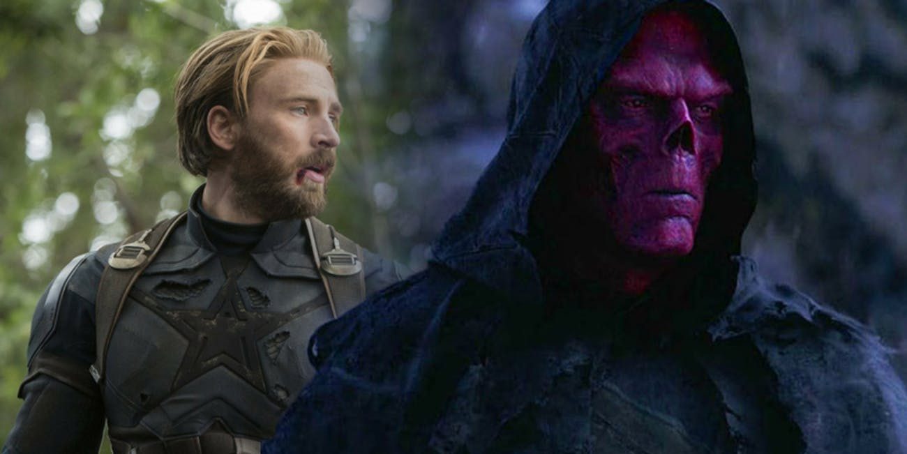 Red Skull Infinity War