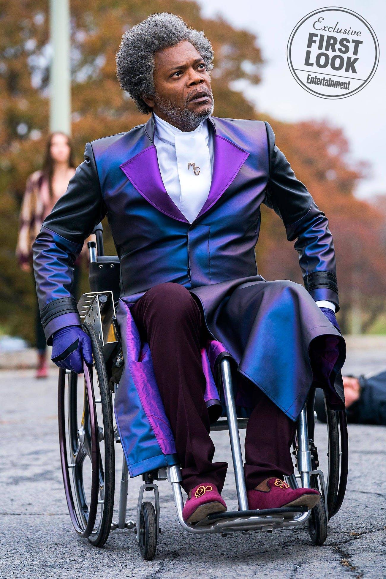 Samuel L. Jackson in 'Glass'.