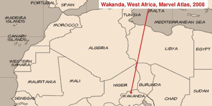 LocationWakanda