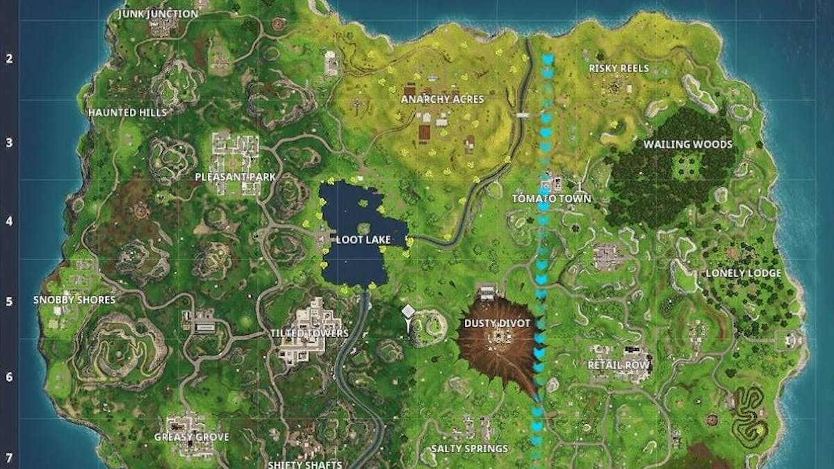 Fortnite Season 4 Reveals New Location On Map Following Meteor