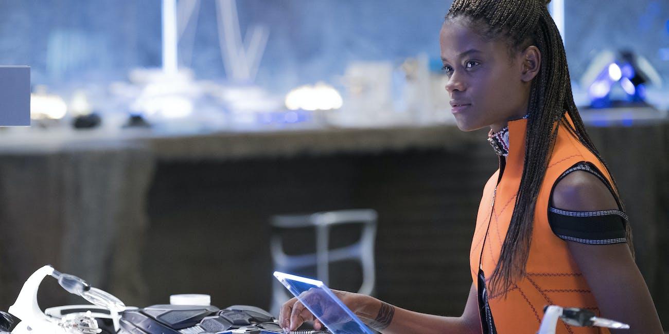 Shuri (Letitia Wright) in 'Black Panther'