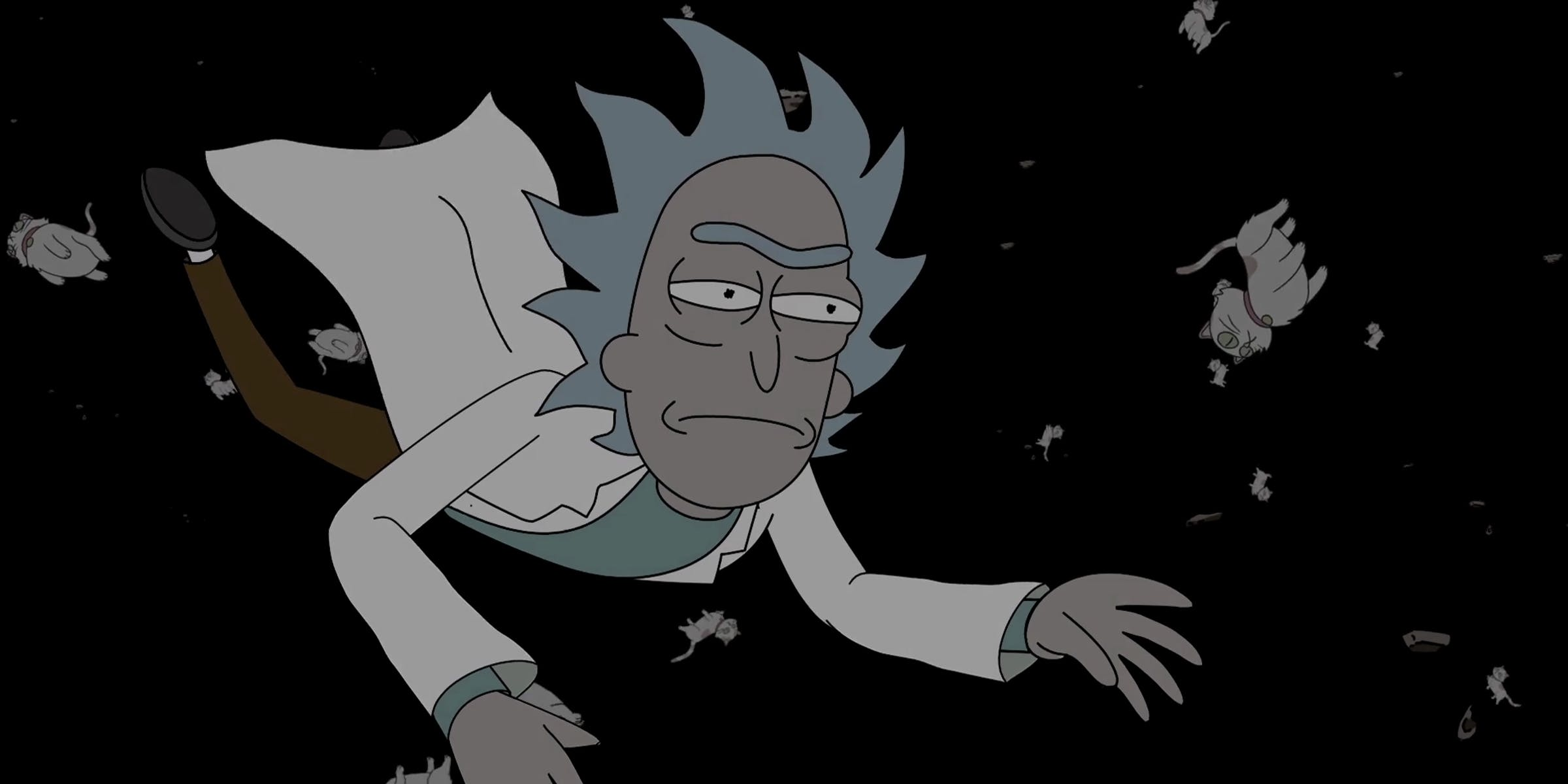 rick and morty tests rick s atheism by breaking time itself itself
