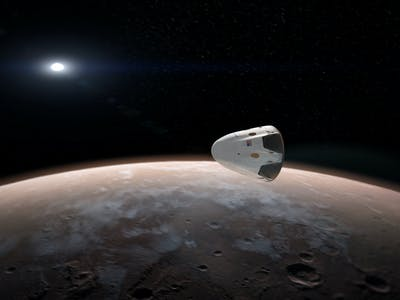 """NASA Has a Good Reason to Be """"Particularly Excited"""" About SpaceX's Mars Mission"""