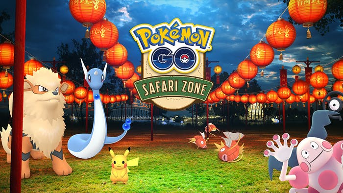 'Pokémon GO' is hosting a Safari Zone event at the Chiayi Lantern Festival in Taiwan.