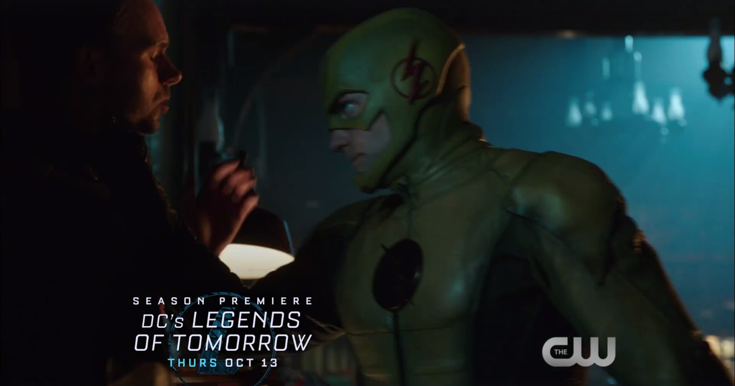 The Reverse-Flash, part of the Legion of Doom, in DC's 'Legends of Tomorrow' Season 2.