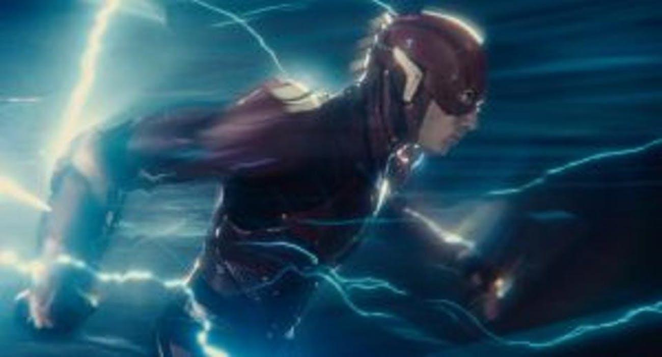 Ezra Miller is The Flash.