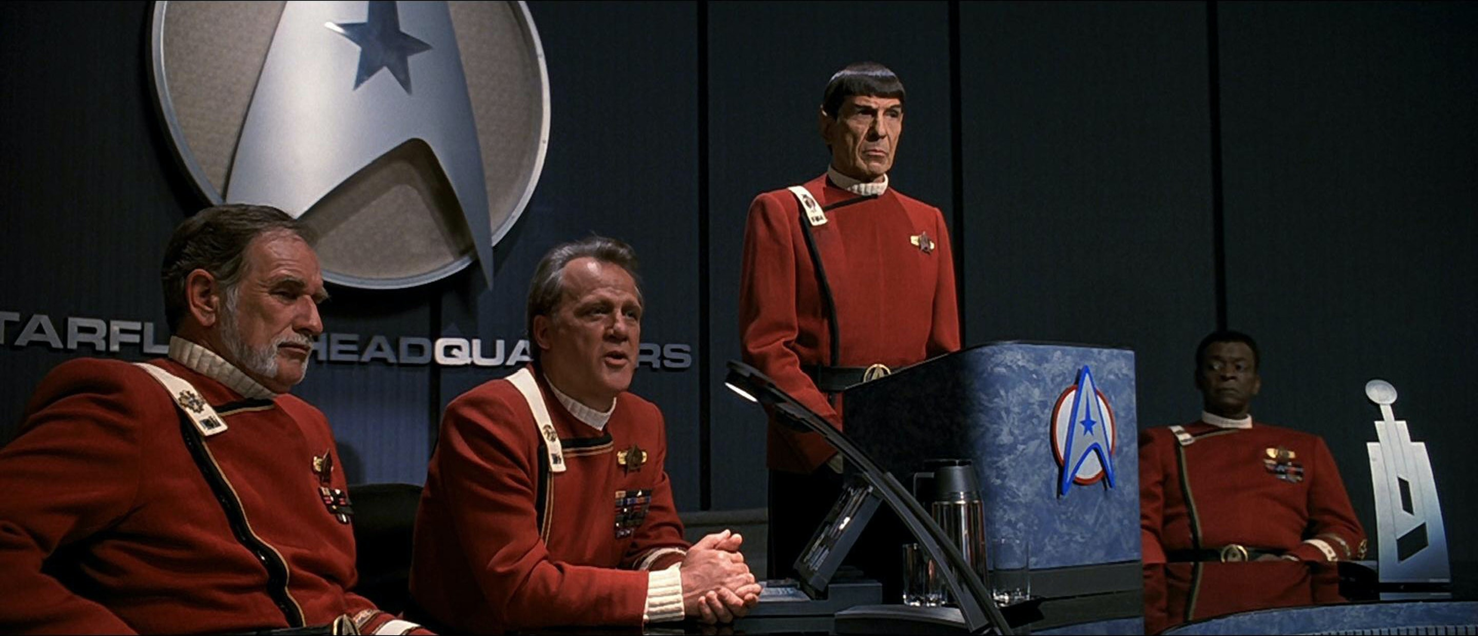 "23rd century ""liberals"" and ""conservatives"" clash in 'Star Trek VI: The Undiscovered Country'"