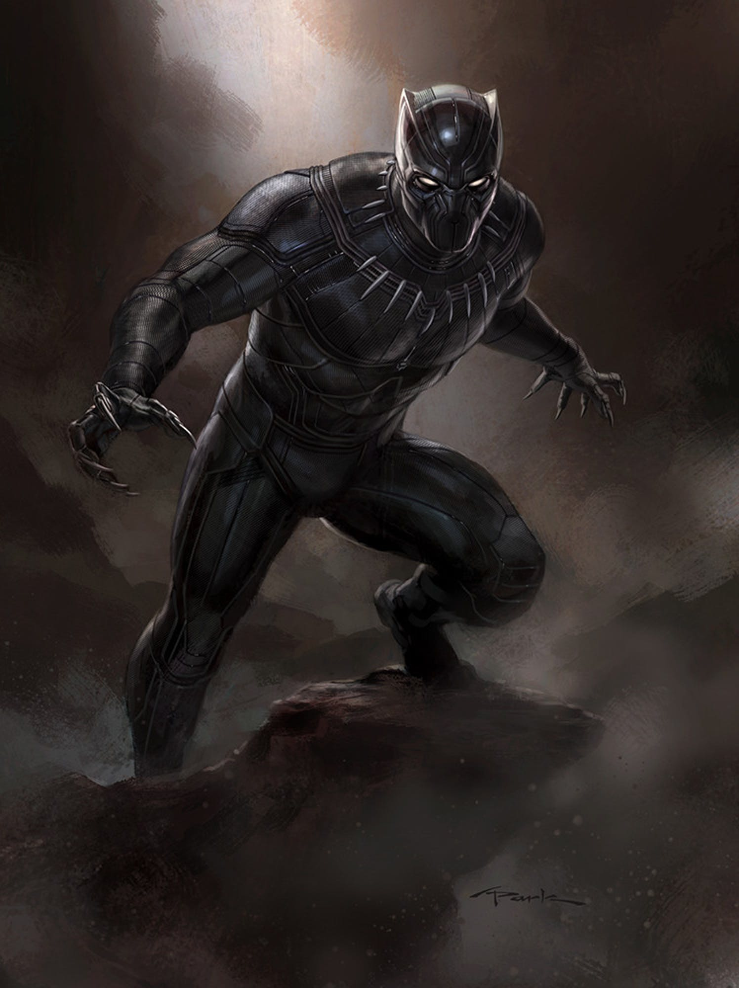 Black Panther Andy PArk