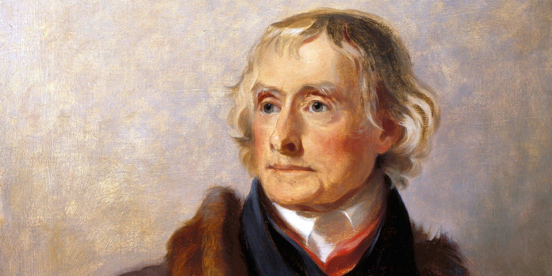 Portrait of Thomas Jefferson