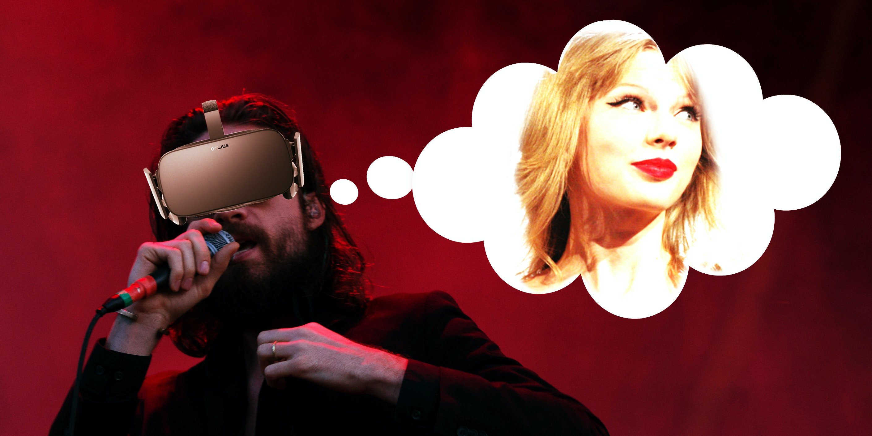 Father John Misty's new song about having VR sex with Taylor Swift raises issues about appearance and ownership.